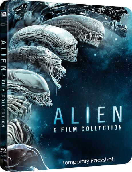 Alien 6 Movie Collection steelbook