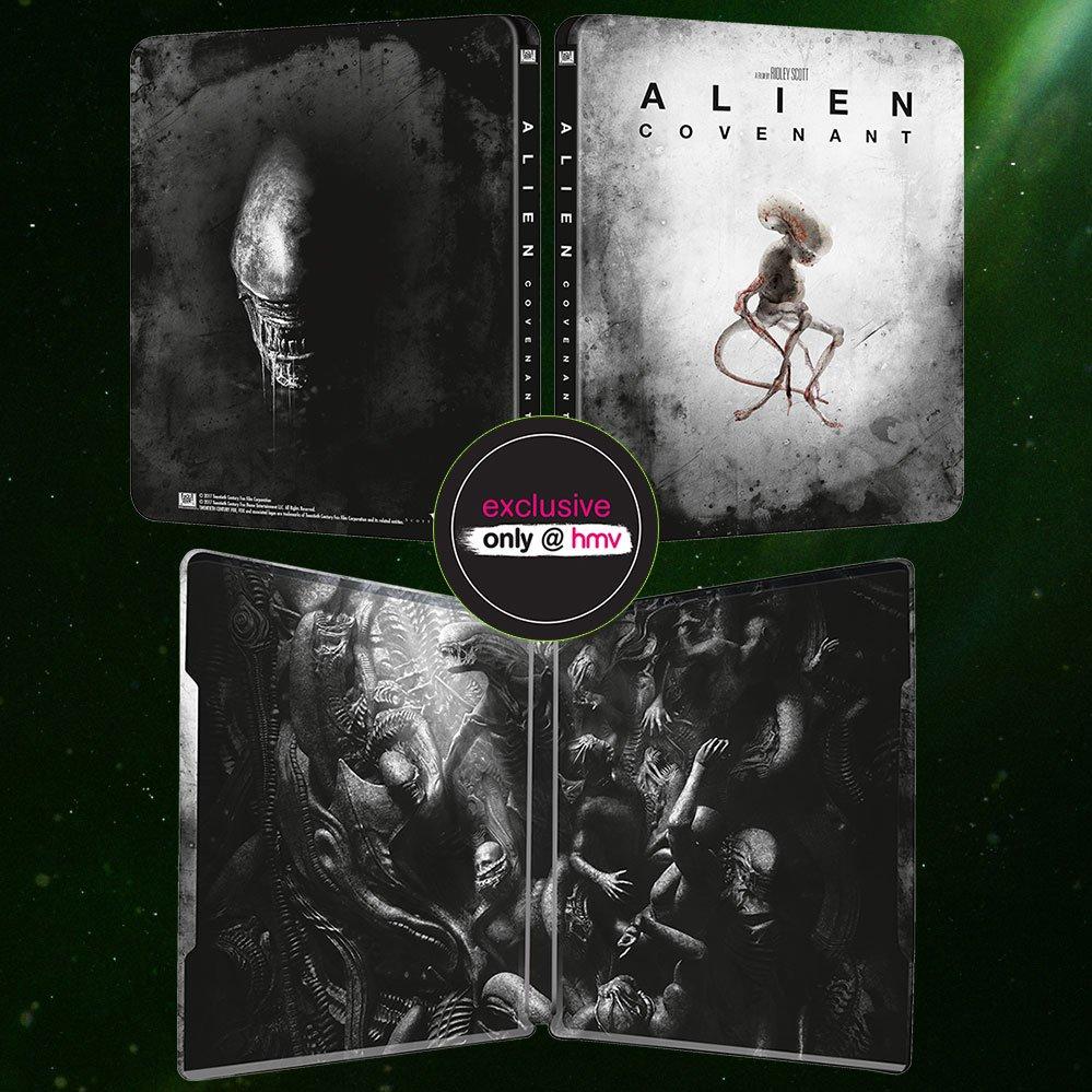 Alien Covenant steelbook HMV 2