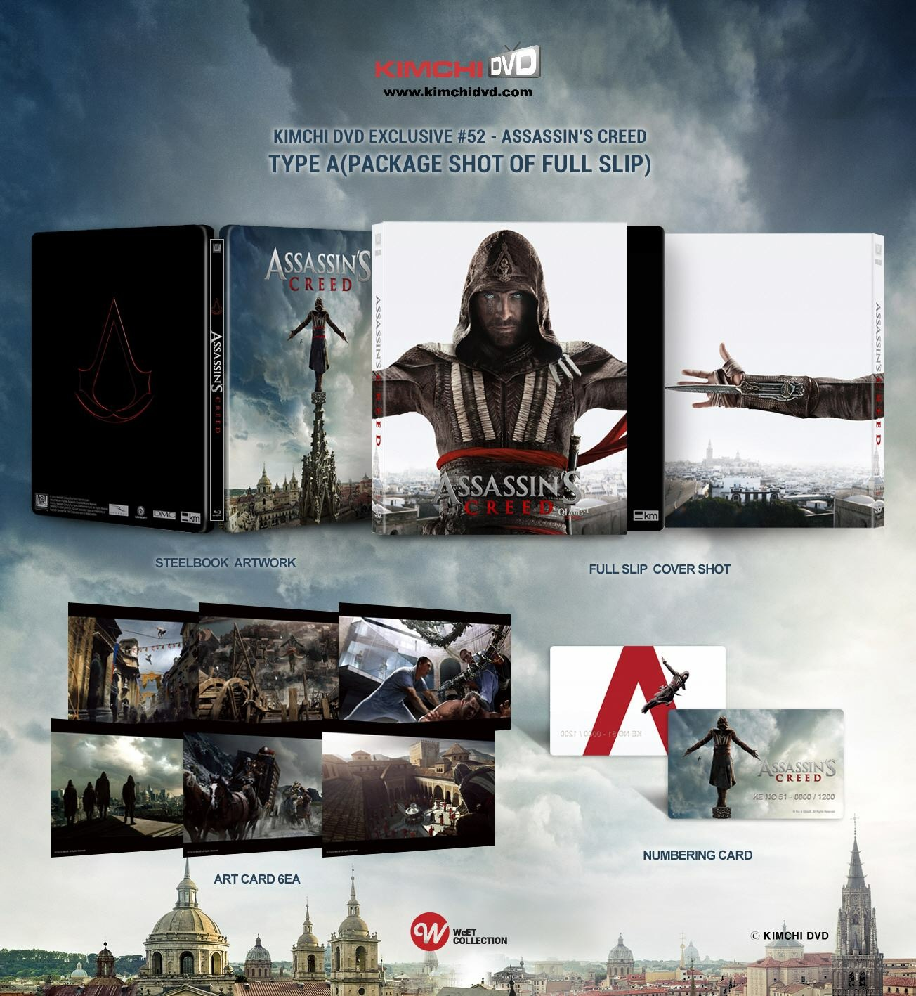 Assassin's Creed steelbook kimchidvd 1