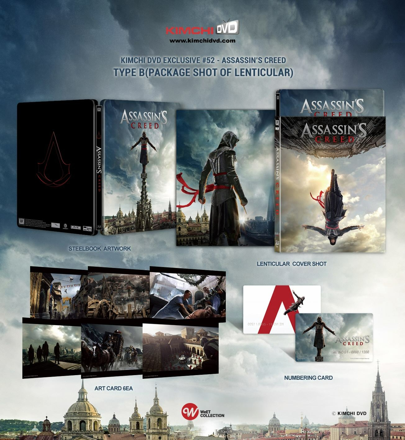 Assassin's Creed steelbook kimchidvd 2