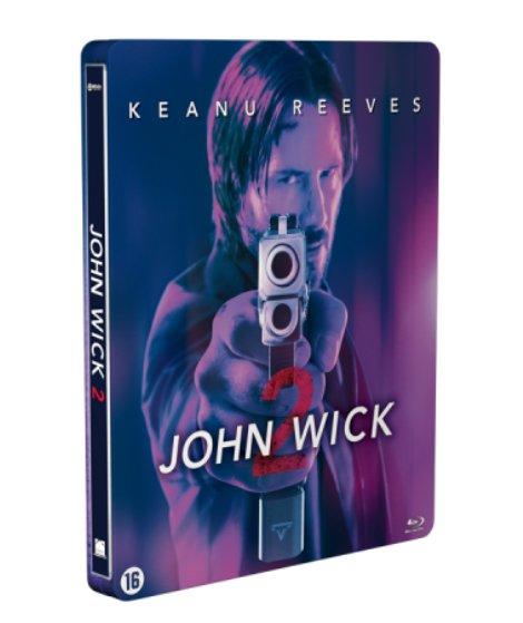John Wick 2 steelbook Benelux (2)