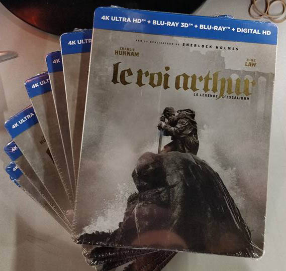 King Arthur steelbook 1