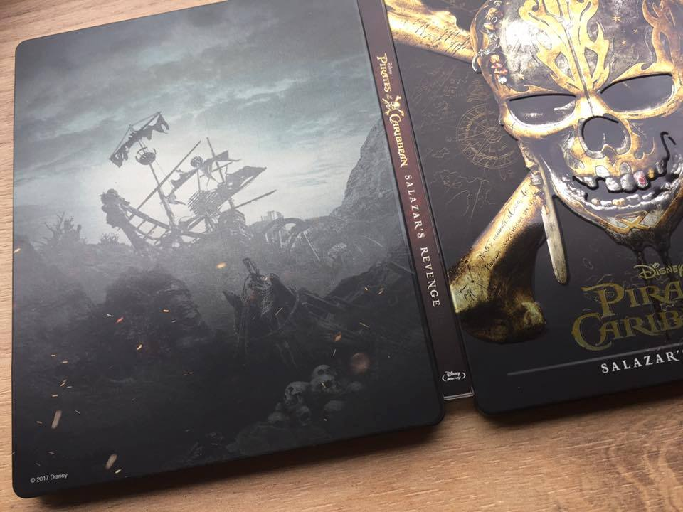 Pirates of the Caribbean Salazar Revenge steelbook 4