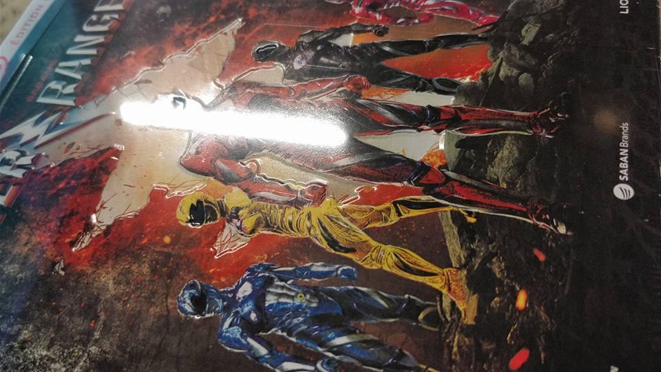 Power Rangers steelbook fr 2
