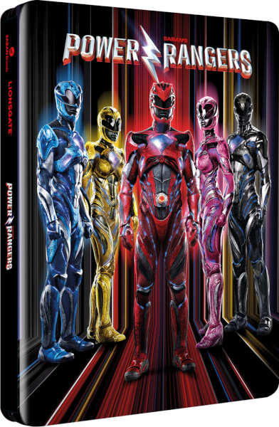 Power Rangers steelbook zavvi1
