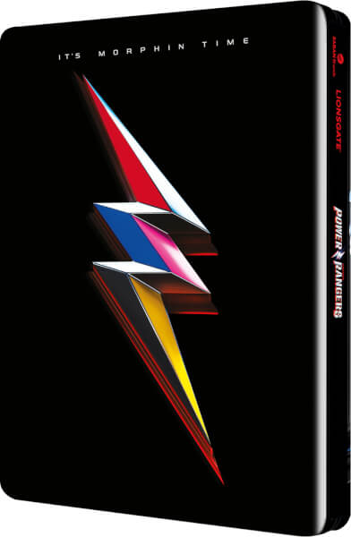 Power Rangers steelbook zavvi2