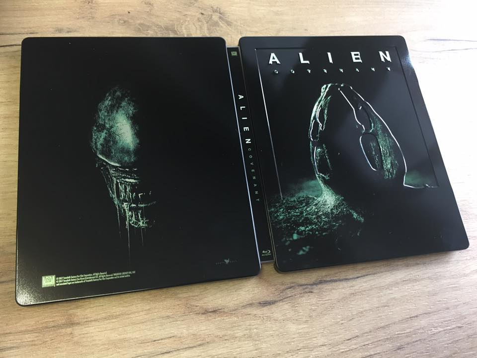 Alien Covenant steelbook filmarena 1