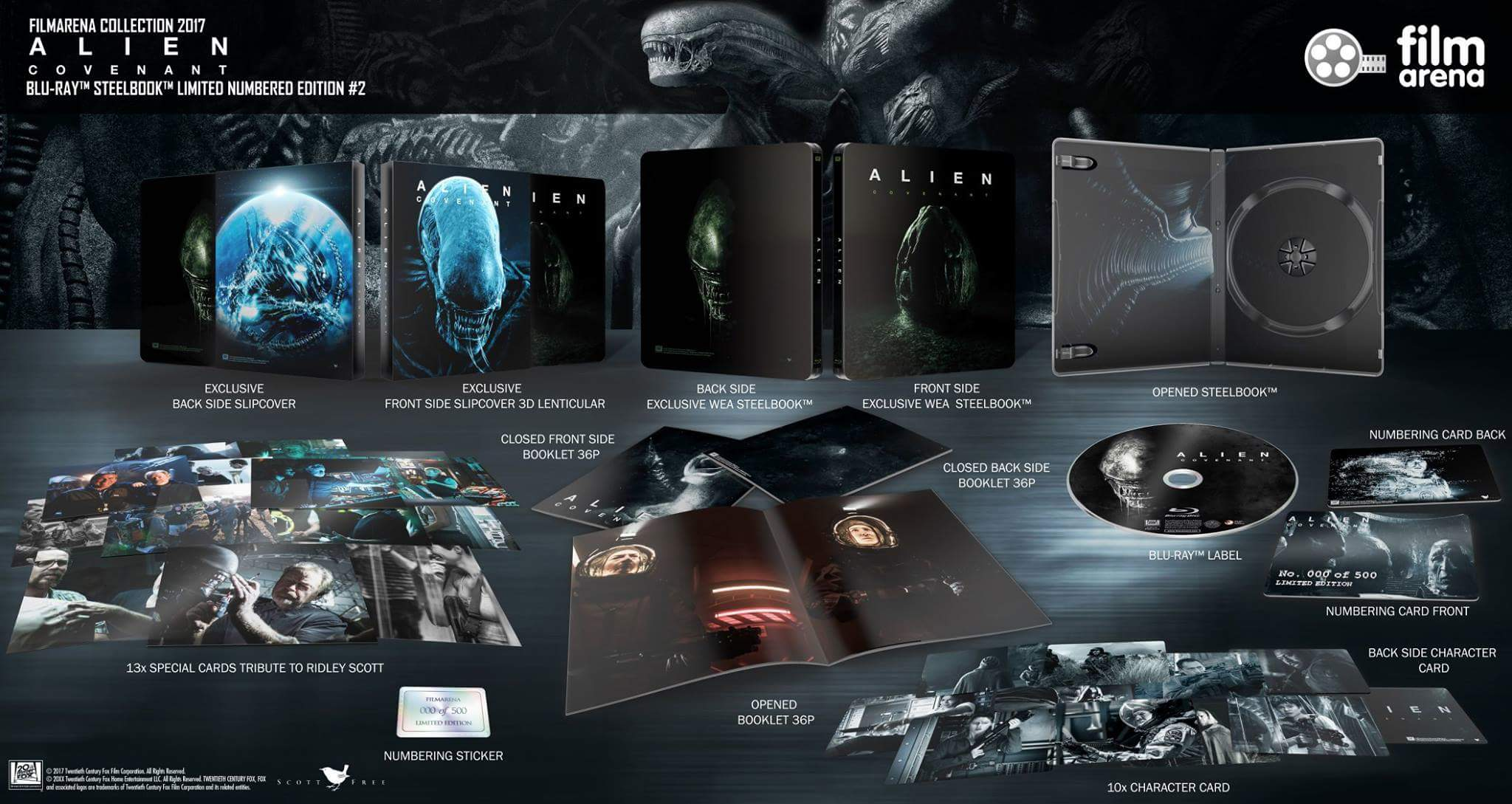Alien Covenant steelbook filmarena 2