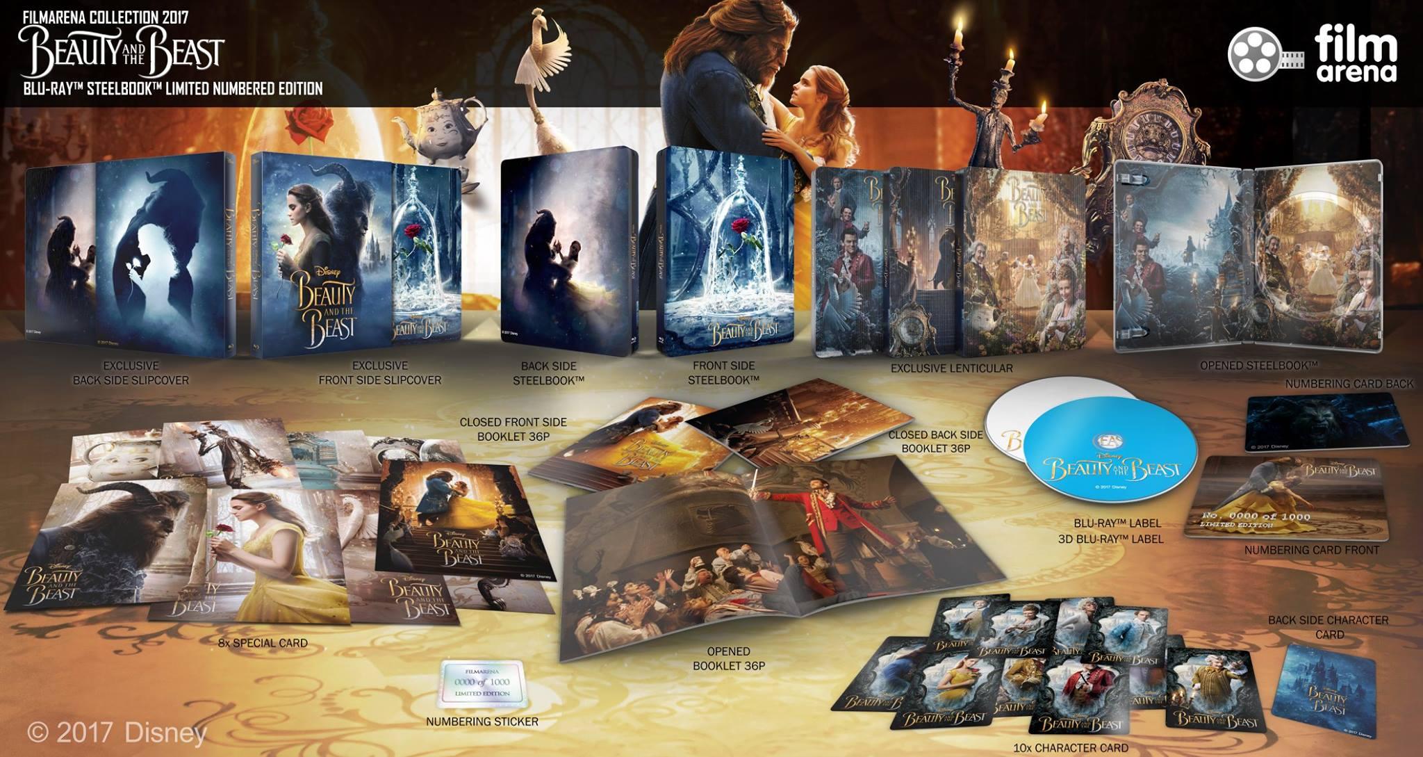 Beauty and the Beast steelbook filmarena