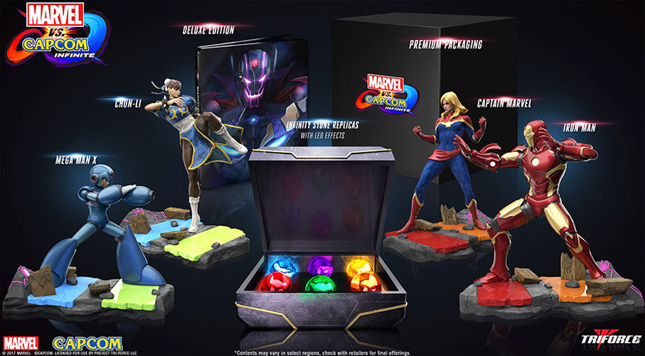 Coffret-collector-figurines-Marvel-Vs-Capcom-PS4-steelbook