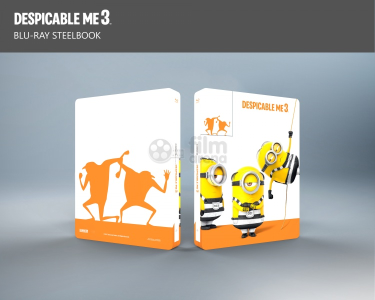 Despicable Me 3 steelbook 2