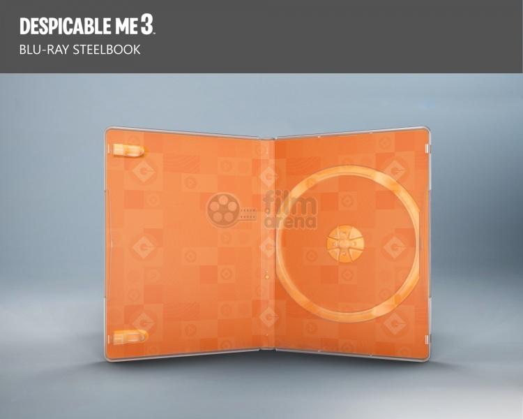 Despicable Me 3 steelbook 3