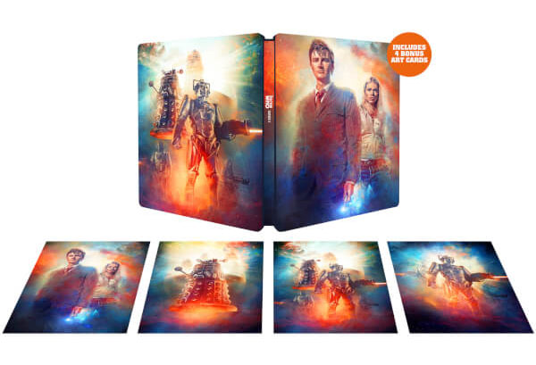 Doctor Who series 2 steelbook 1