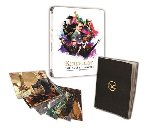 Kingsman steelbook HMV
