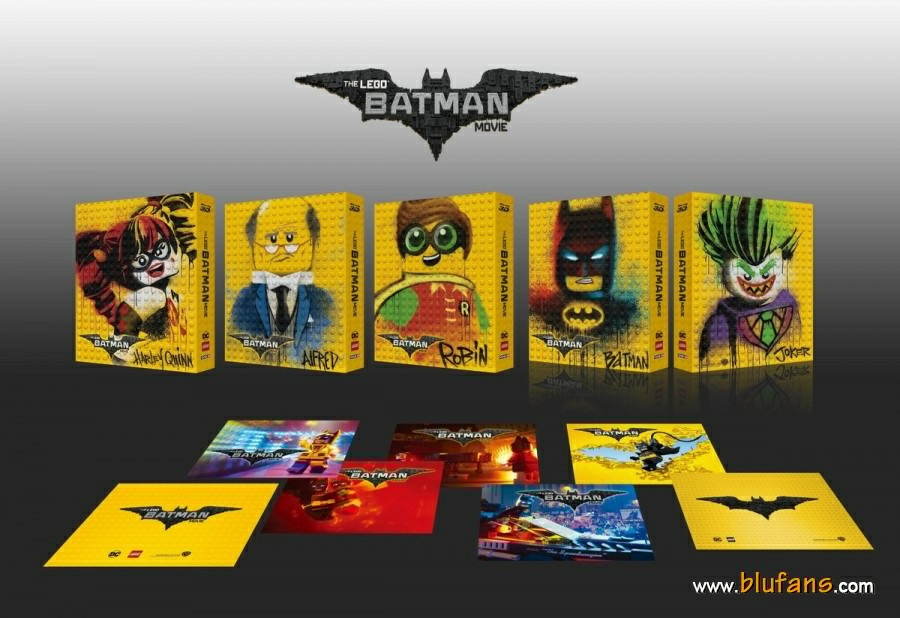 Lego Batman steelbook blufans 1