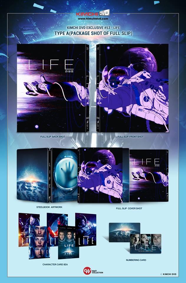 Life steelbook KimchiDVD 1