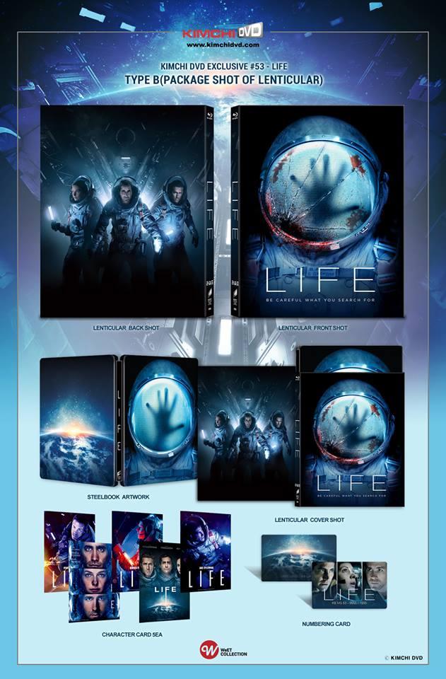 Life steelbook KimchiDVD 2