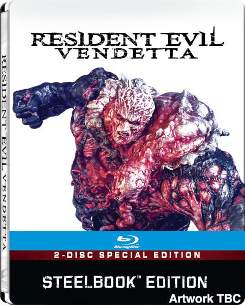 Resident Evil Vendetta steelbook