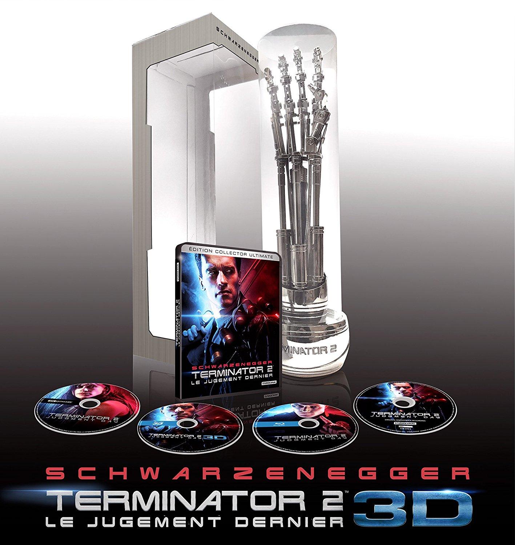 Terminator 2 3D steelbook zavvi