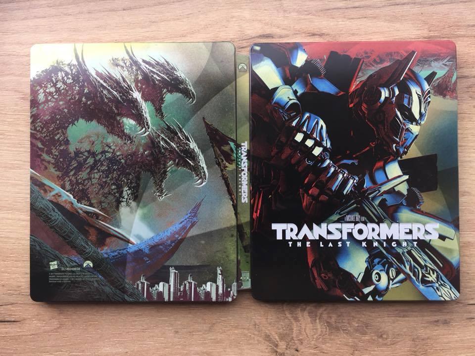 Transformers The Last Knight steelbook 1