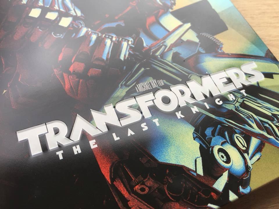 Transformers The Last Knight steelbook 2