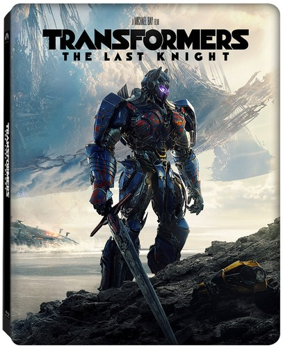 Transformers The Last Knight steelbook best buy