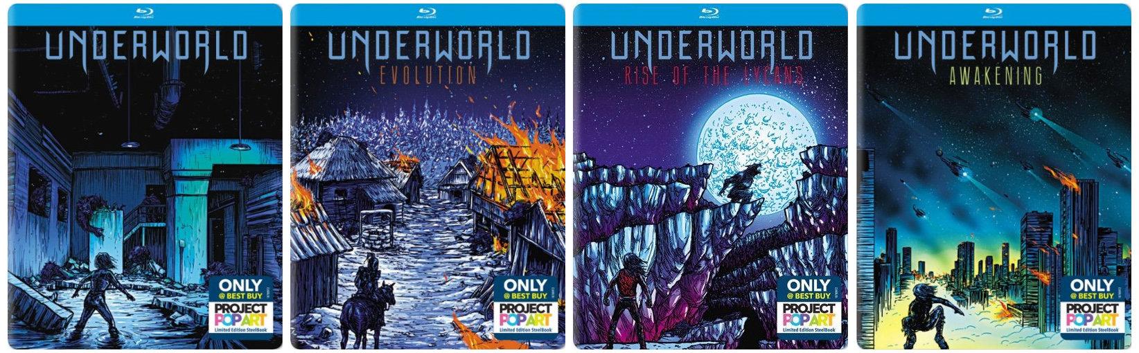 Underworld popart steelbook bestbuy