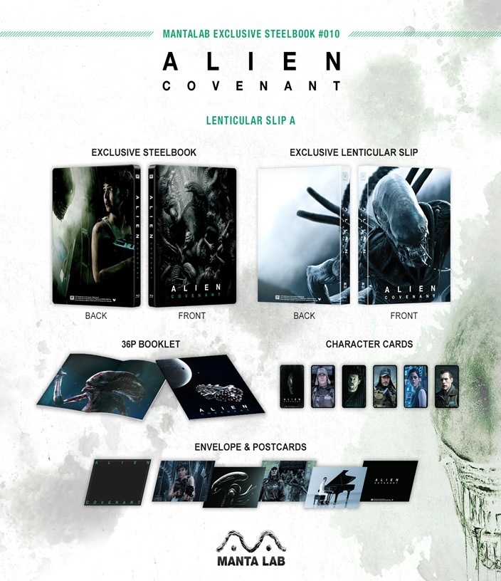 Alien Covenant steelbook manta lab 2