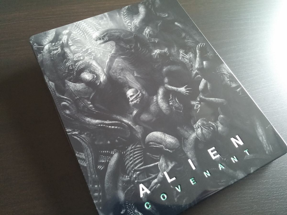Alien Covenant steelbook mantalab 0