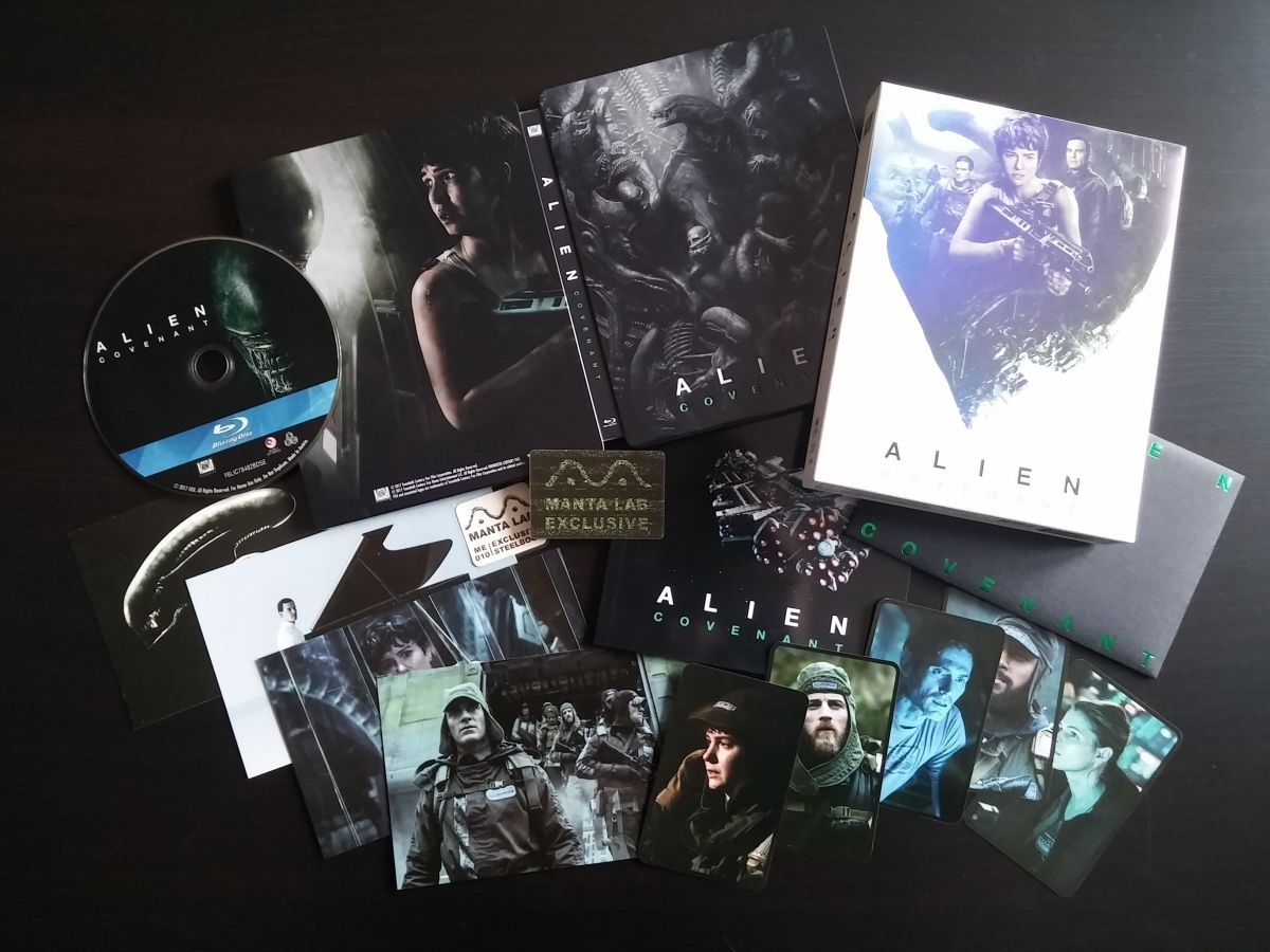 Alien Covenant steelbook mantalab 4