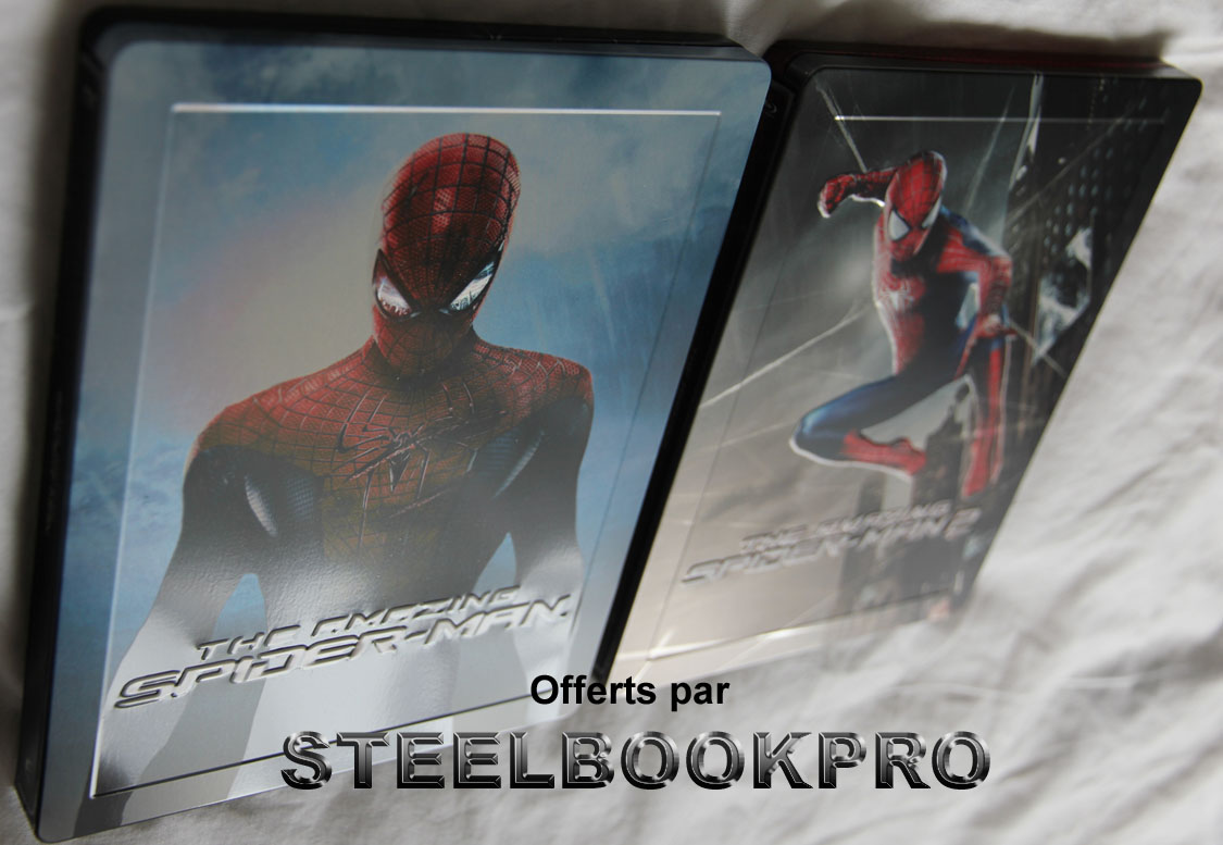 Amazing Spider-man 1 & 2 steelbook