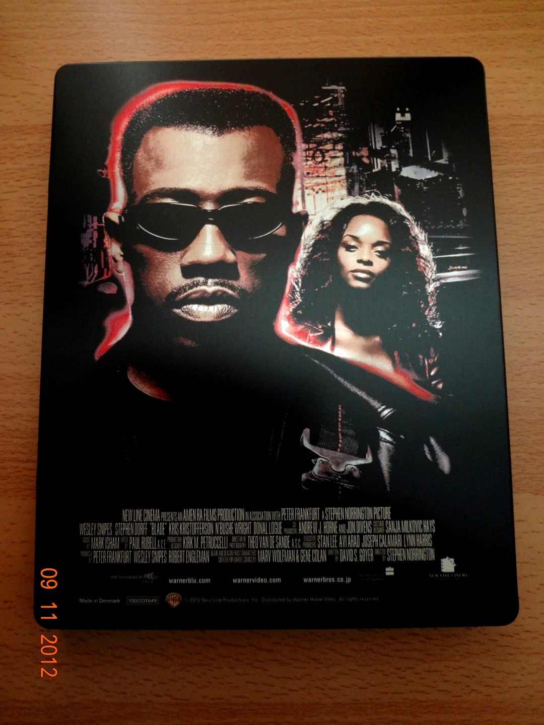 Blade Steelbook Japan Back (Large)