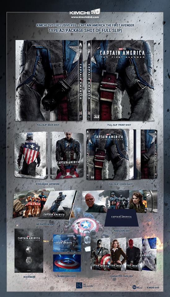 Captain America The First Avenger steelbook kimchiDVD 2