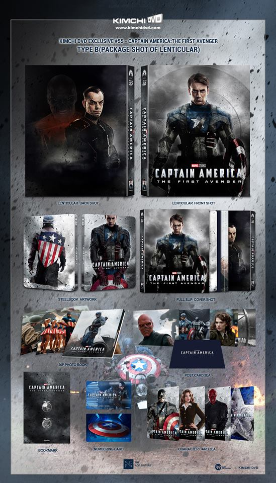 Captain America The First Avenger steelbook kimchiDVD 3