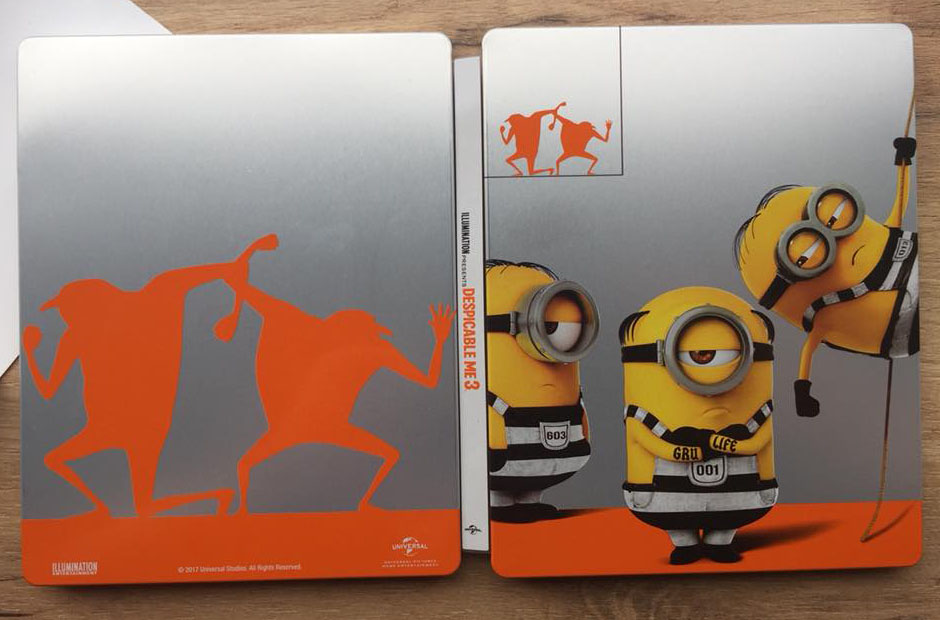 Despicable Me 3 steelbook 1