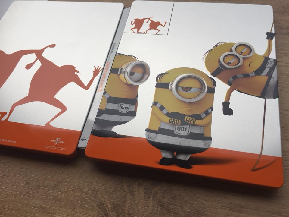 Despicable Me 3 steelbook 2