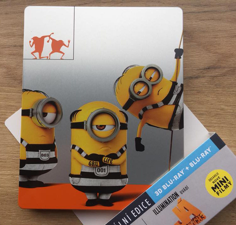 Despicable Me 3 steelbook 4