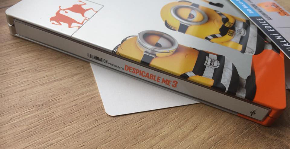 Despicable Me 3 steelbook 5