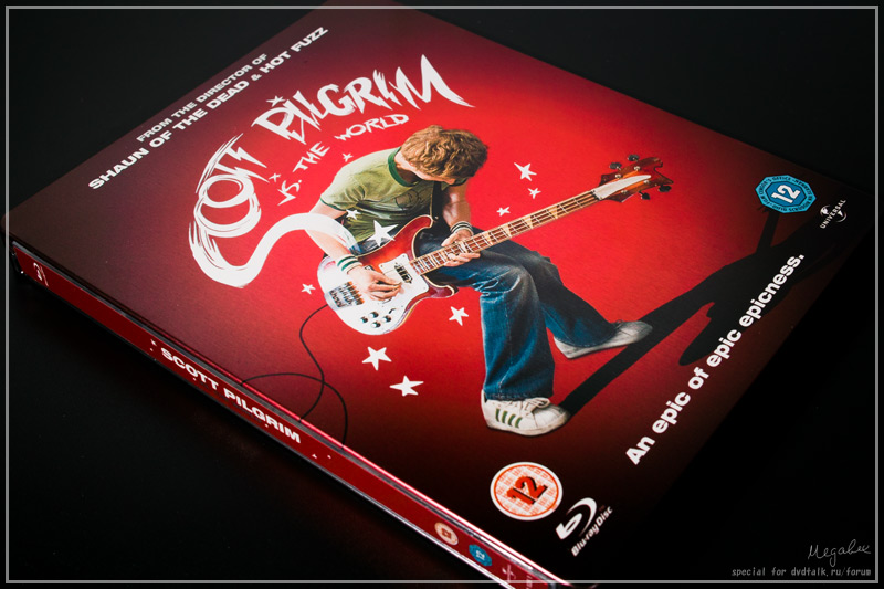 Scott Pilgrim steelbook UK 1