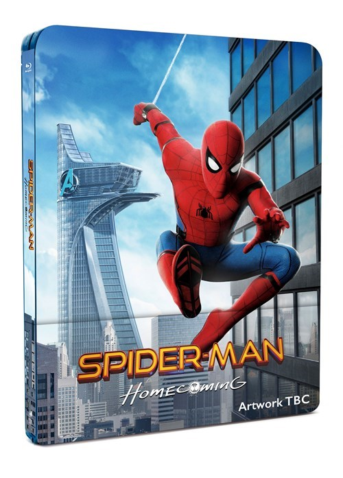 Spider-man Homecoming steelbook HMV