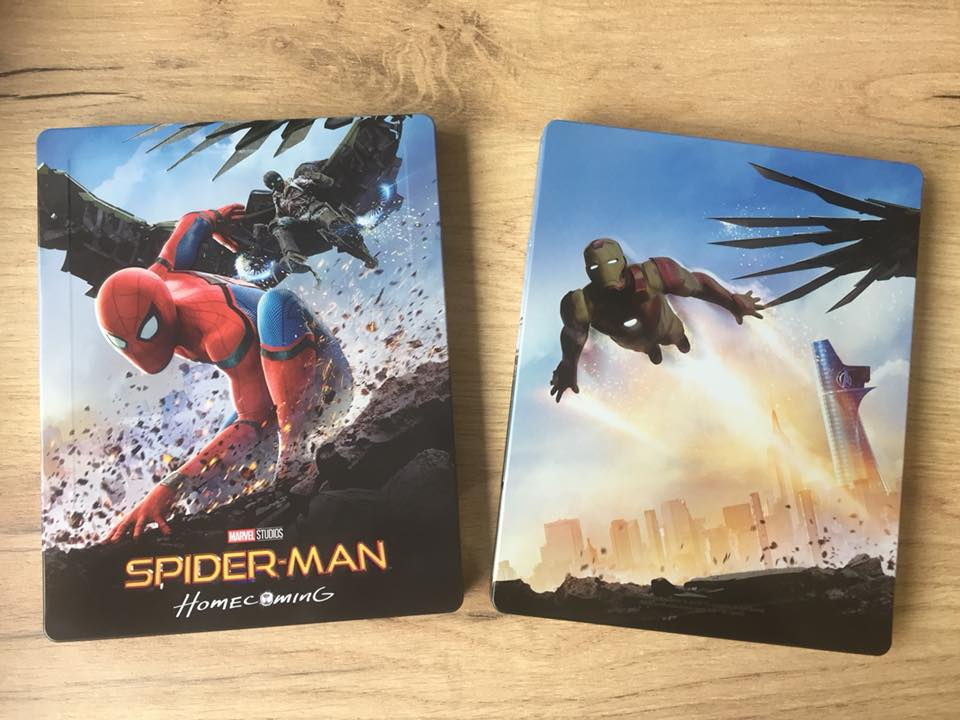 Spider-man Homecoming steelbook filmarena 10