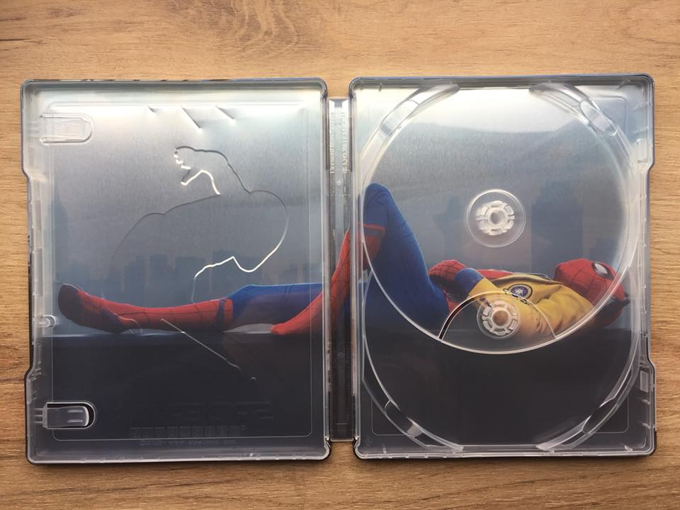 Spider-man Homecoming steelbook filmarena 11