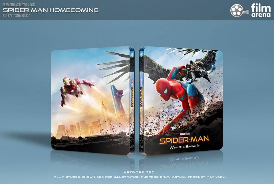 Spider-man Homecoming steelbook filmarena