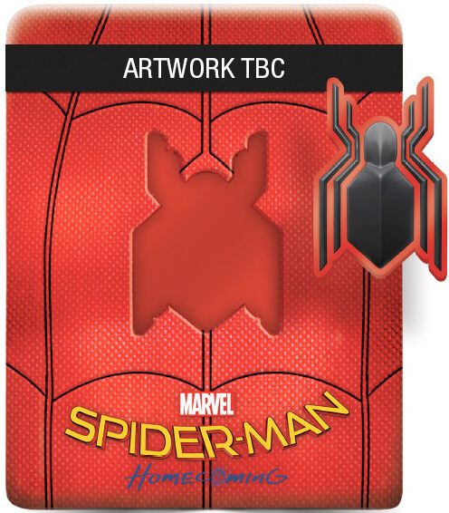 Spider-man Homecoming steelbook zavvi
