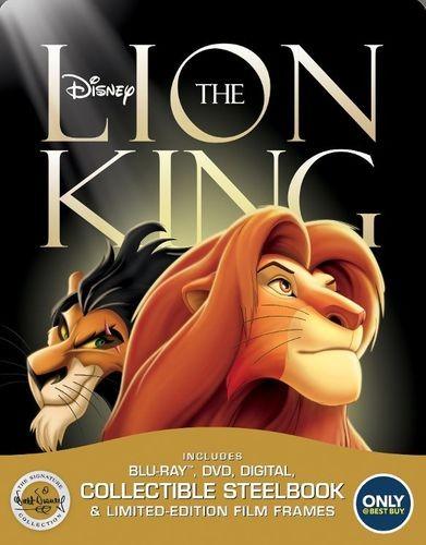 The Lion King steelbook bestbuy