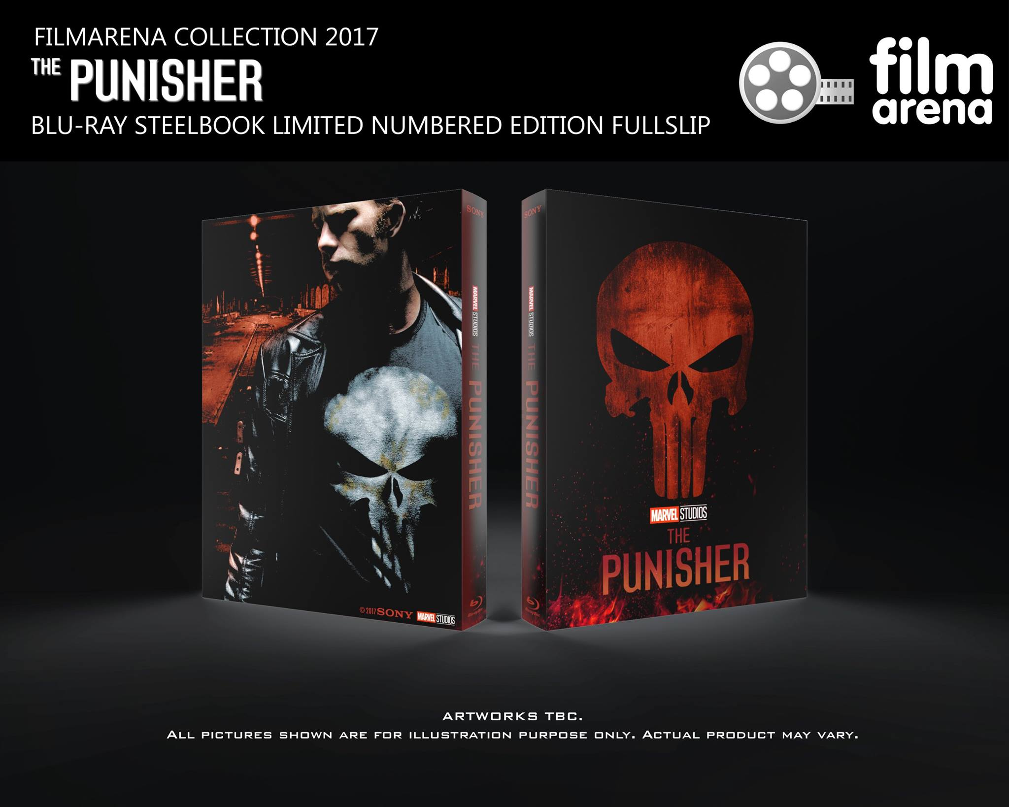 The Punisher steelbook filmarena