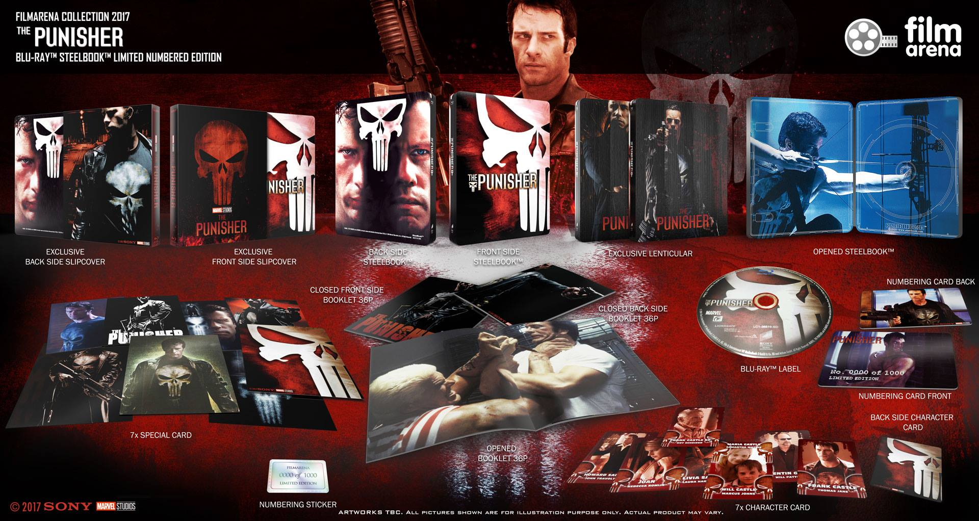 The Punisher steelbook filmarena2