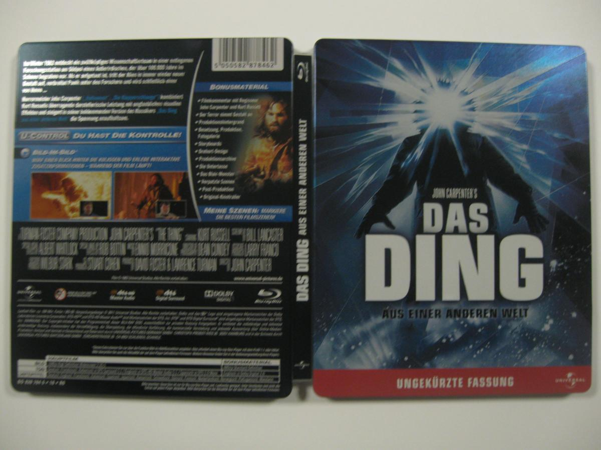 The thing steelbook DE