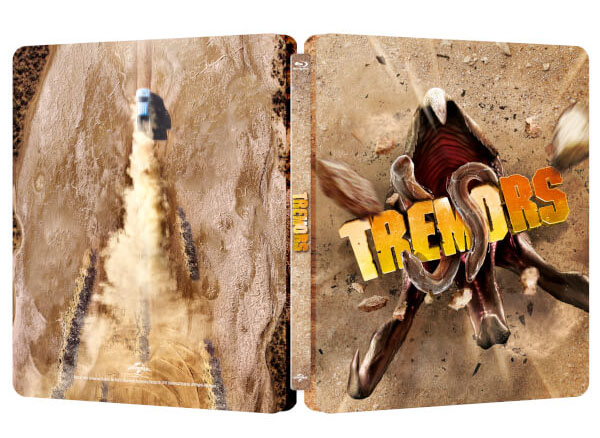 Tremors steelbook zavvi 2