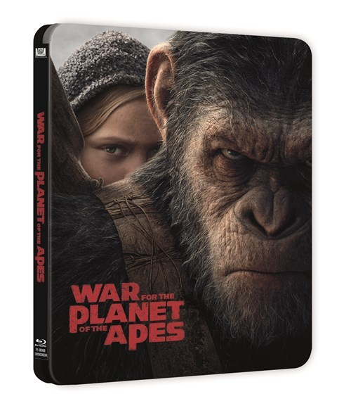 War for the Planet of the apes steelbook